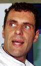 Roland Ratzenberger before his one and only grand prix finish