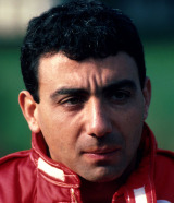 Michele Alboreto at Monza