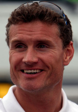 David Coulthard in the Hockenheim paddock