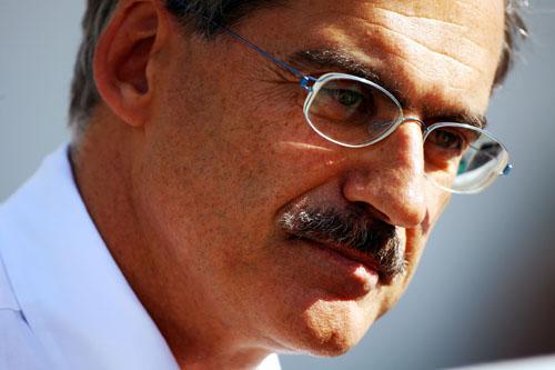 Dr Mario Theissen, BMW Sauber team principal