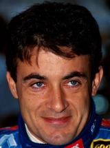 Benetton driver Jean Alesi at the 1997 Spanish Grand Prix