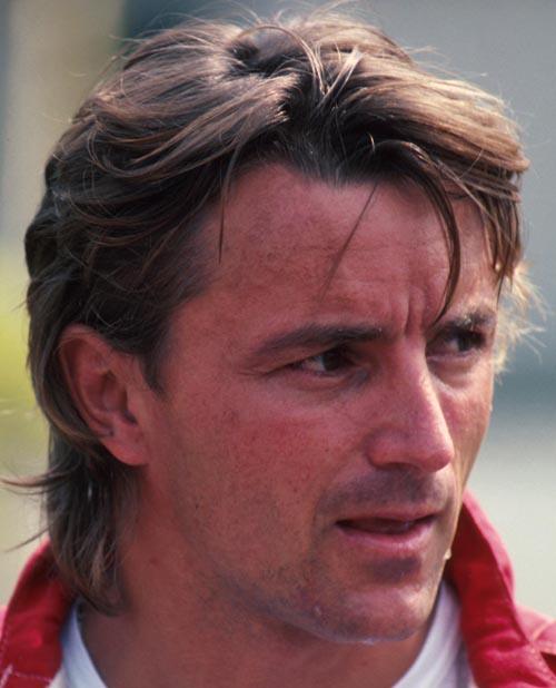Ferrari's Rene Arnoux at the 1984 world championship