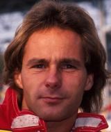 Gerhard Berger at the 1987 world championship