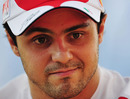 Felipe Massa in the paddock