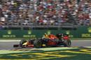Daniel Ricciardo puts on soft tyres