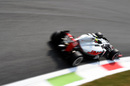 Esteban Gutierrez tries medium tyres