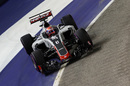 Romain Grosjean approaches a corner