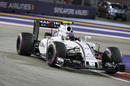 Valtteri Bottas works on his program