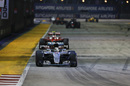 Lewis Hamilton leads Kimi Raikkonen