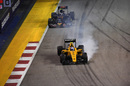 Jolyon Palmer locks up heavily