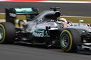 Lewis Hamilton gains speed on track