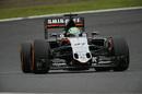 Nico Hulkenberg approaches a corner
