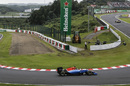 Pascal Wehrlein rounds the hairpin