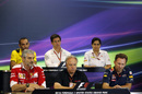 The Friday press conference in United States Grand Prix