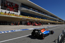Pascal Wehrlein returns to the pit