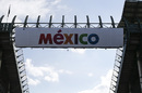 Mexico Signage banner at the track