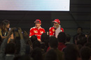 Kimi Raikkonen at a Shell Eco Event
