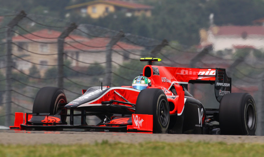 Lucas di Grassi during qualifying