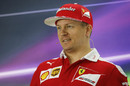 Kimi Raikkonen in the press conference on Thursday