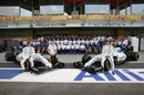 Williams members pose for team photo