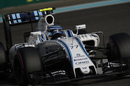 Valtteri Bottas behind the wheel of the Williams