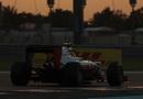 Esteban Gutierrez on track in the Haas