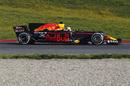 Daniel Ricciardo focuses on his testing program
