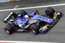 Antonio Giovinazzi in the Sauber C36