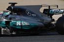 Mercedes W08 rear wing