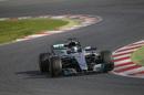 Valtteri Bottas approaches a corner