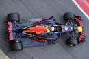 Daniel Ricciardo leaves the garage