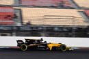 Nico Hulkenberg continues the testing program