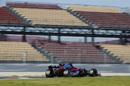 Carlos Sainz at speed in the Toro Rosso STR12