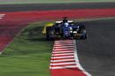 Marcus Ericsson on track in the Sauber