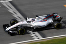 Lance Stroll continues the testing program