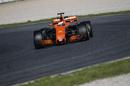 Stoffel Vandoorne in the McLaren  MCL32