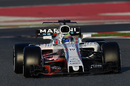 Felipe Massa in the Williams FW40 with aero paint