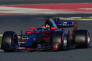 Daniil Kvyat behind the wheel of the Williams