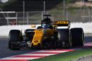 Nico Hulkenberg at speed in Renault