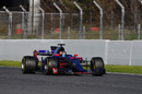 Carlos Sainz at speed in the STR12