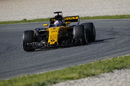 Jolyon Palmer in the Renault R.S.17