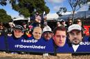 Fans in Australia GP