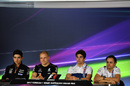 Thursday Press Conference at Australia Grand Prix