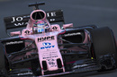 Sergio Perez continues to push for Force India