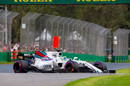 Felipe Massa continues to push for Williams