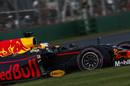 Daniel Ricciardo gets the power down