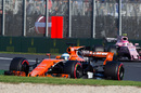 Fernando Alonso continues to push for McLaren