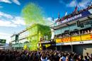 Poduim celebrations at Australian Grand Prix