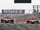 Lewis Hamilton battles back against Jenson Button