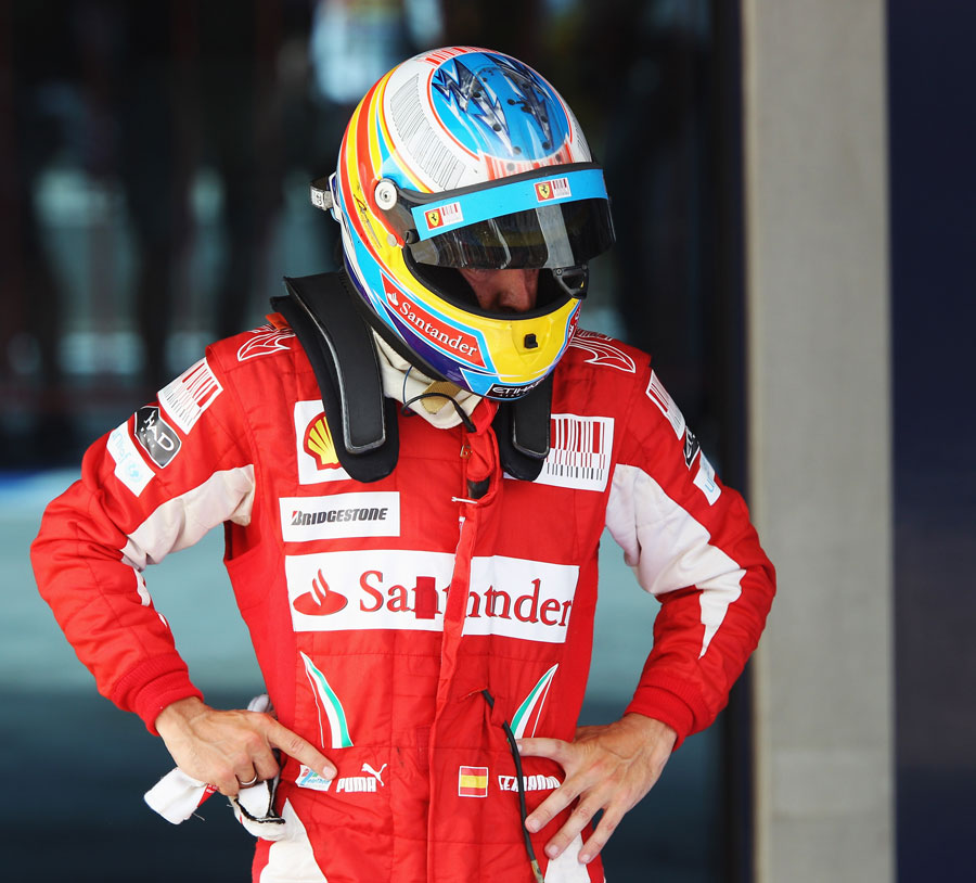 Fernando Alonso reflects on a difficult weekend